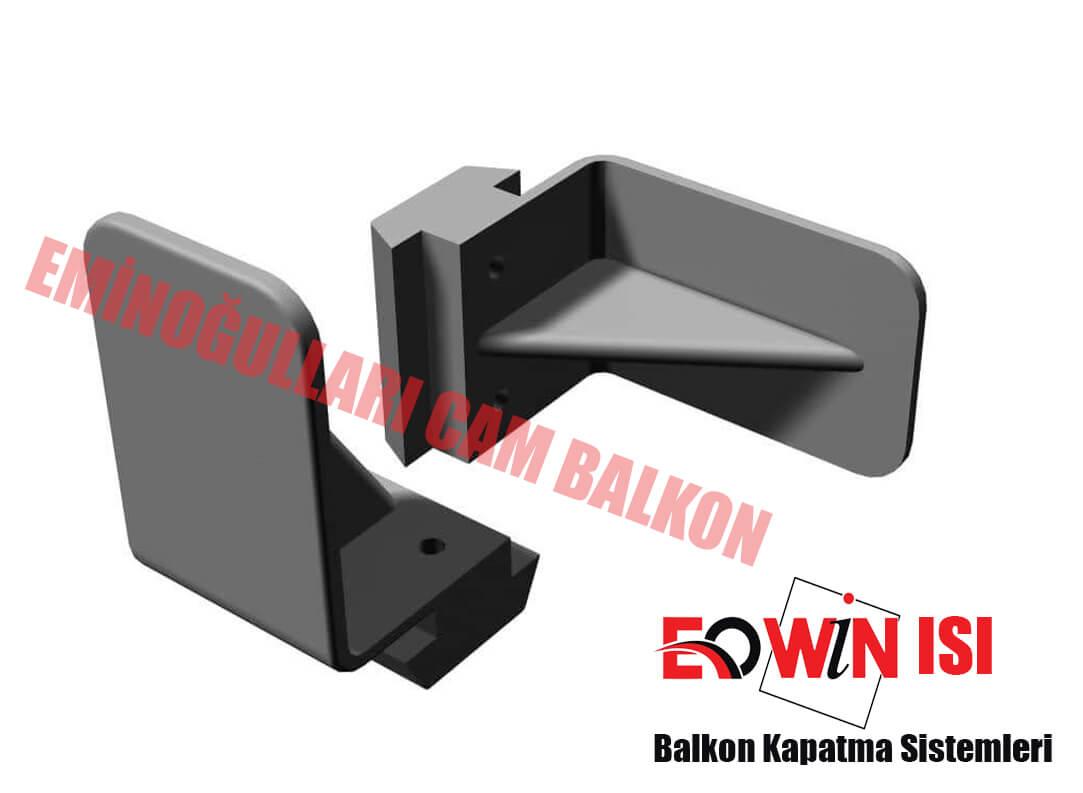 Eowin Isı Alt ve Üst U Kapak - Isıcamlı Cam Balkon
