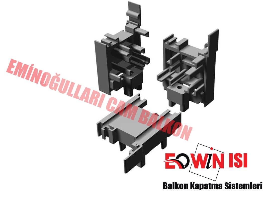 Eowin Isı Kanat Fitil Kapak - Isıcamlı Cam Balkon