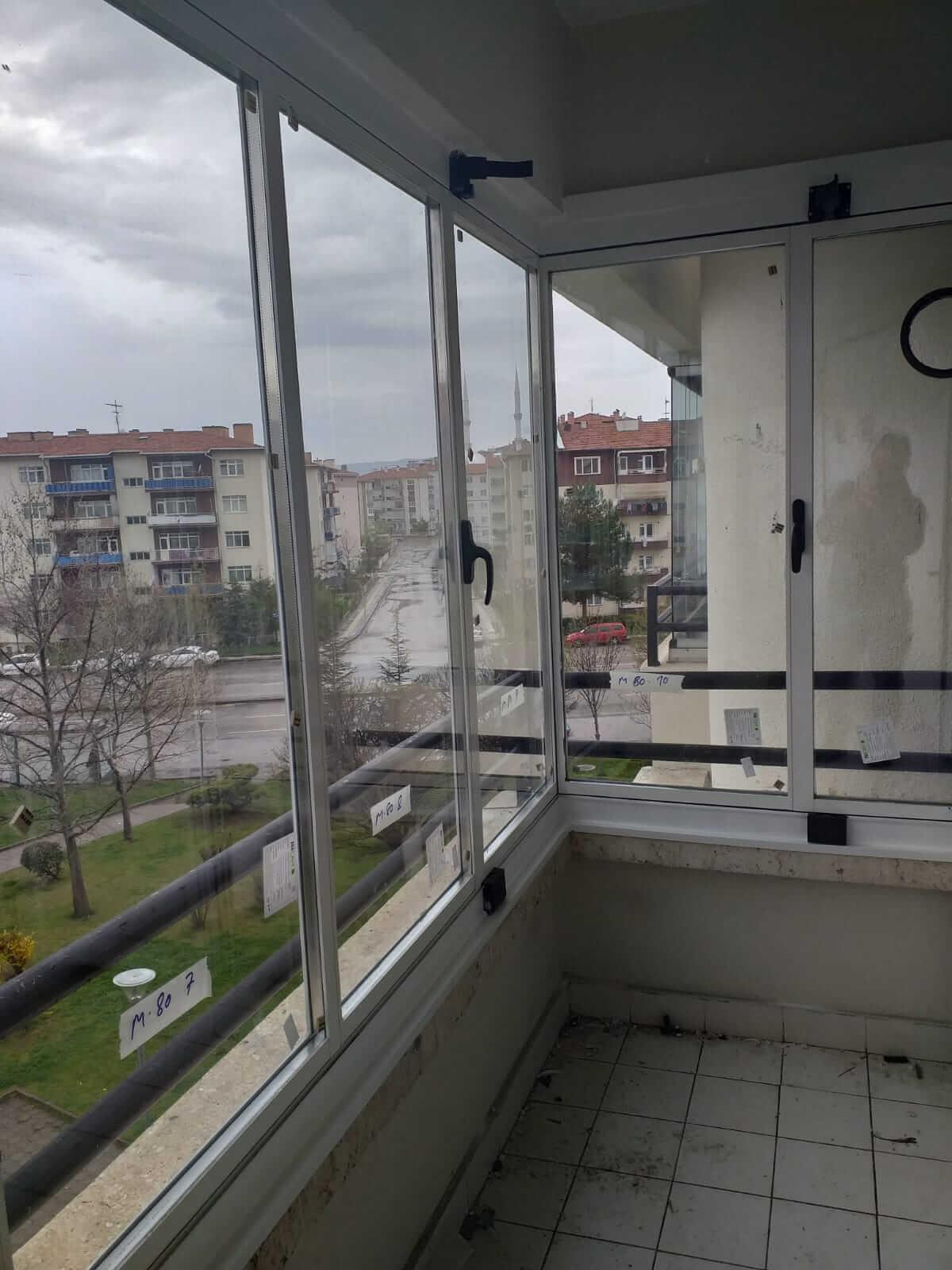 Ankara Elmadağ Isıcamlı Cam Balkon