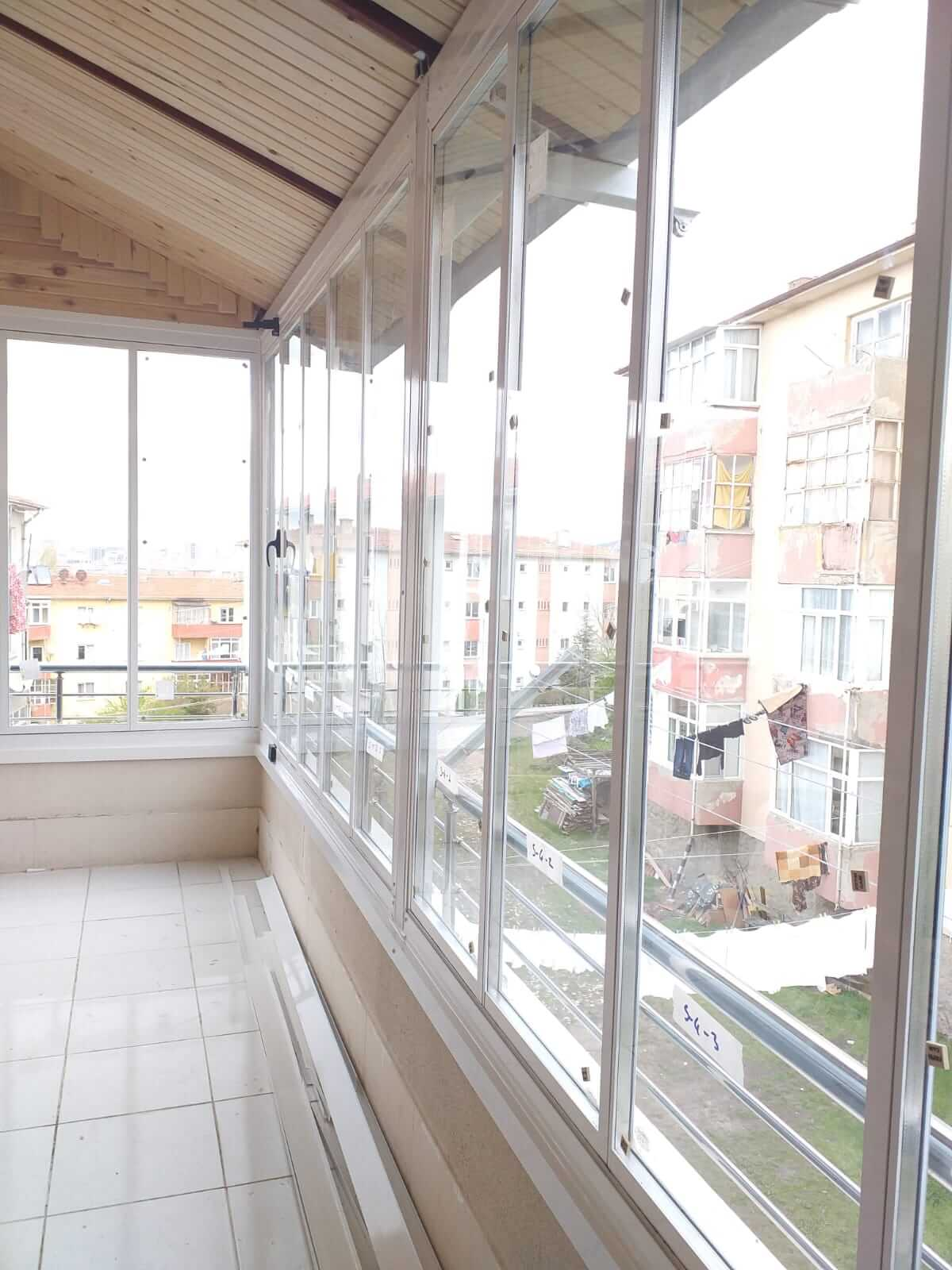 Ankara Evren Isıcamlı Cam Balkon