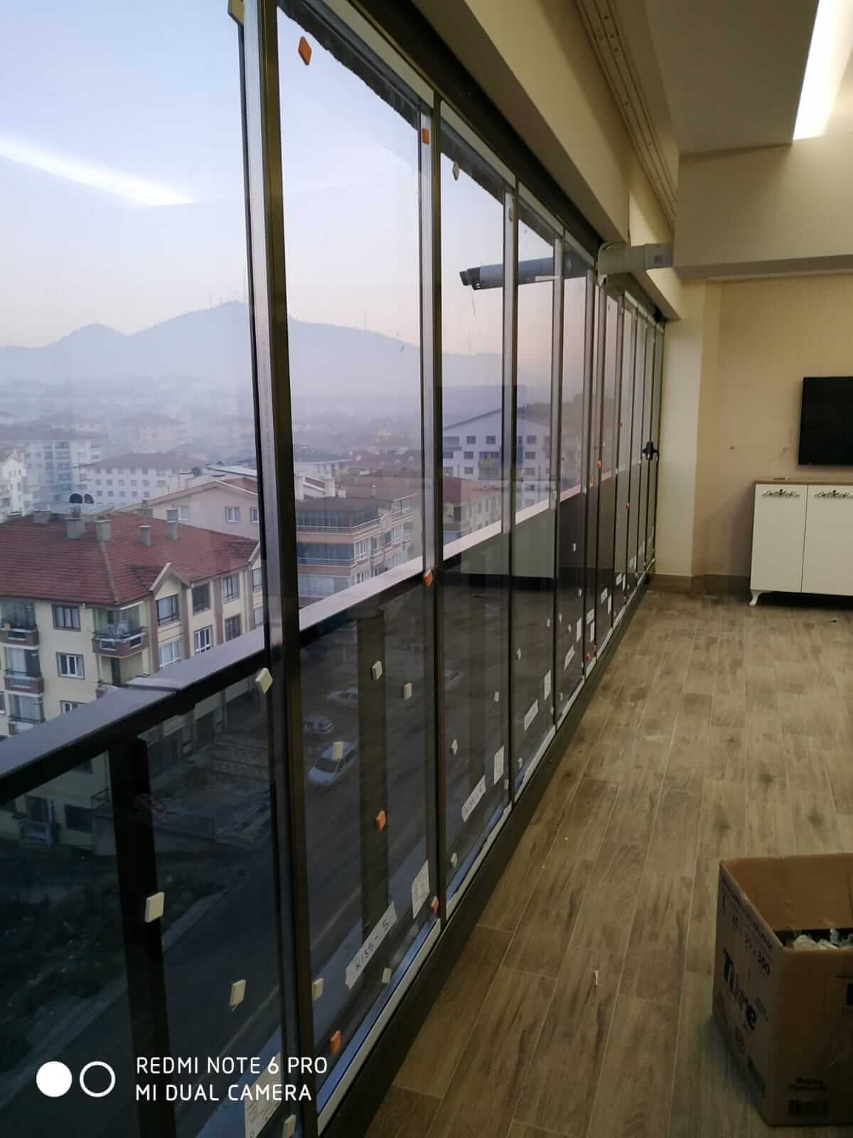 Ankara Gölbaşı Isıcamlı Cam Balkon