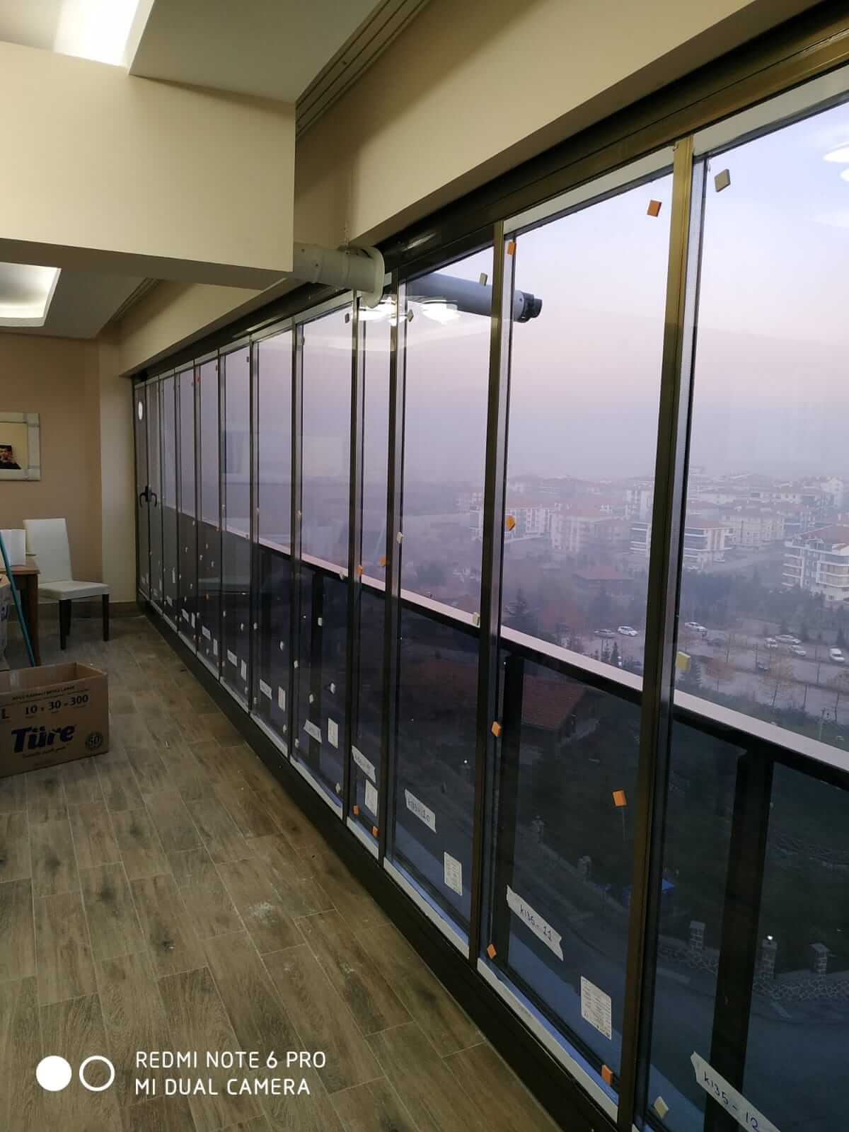 Ankara İncek Isıcamlı Cam Balkon