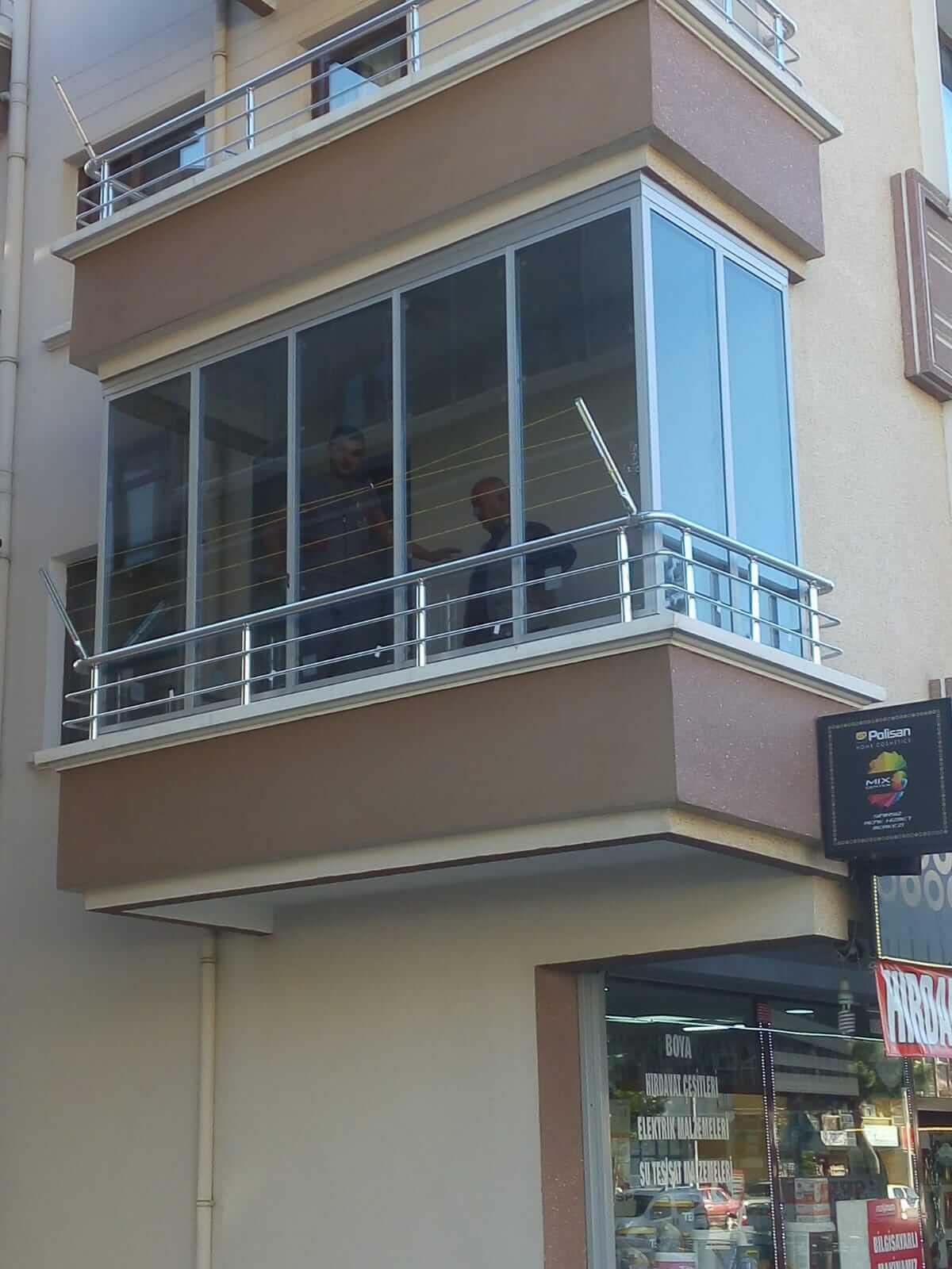 Ankara Keçiören Isıcamlı Cam Balkon