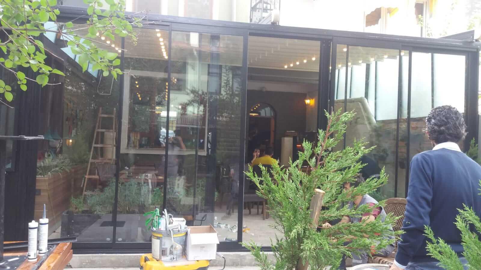 Ankara Keçiören Sürme Seri Cam Balkon Sistemleri