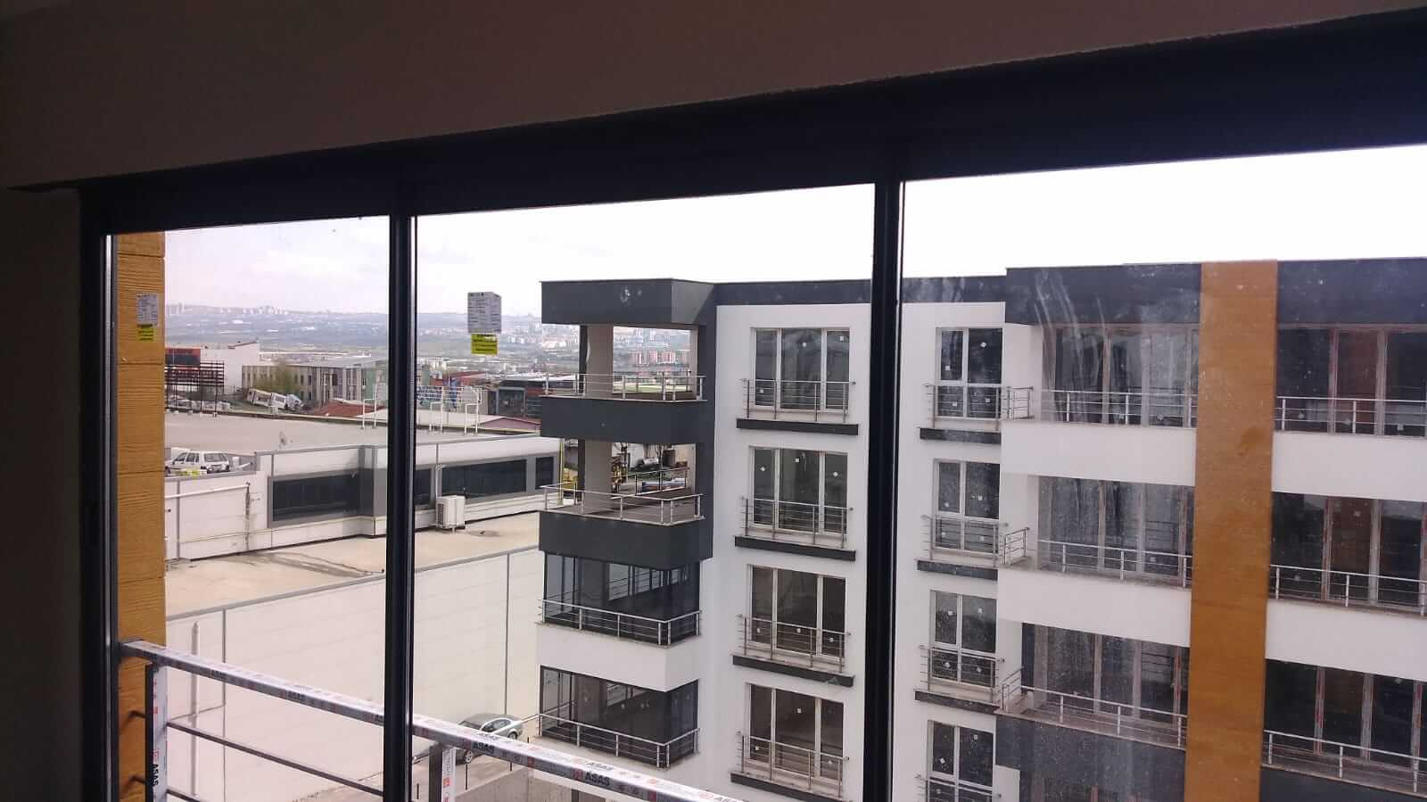 Ankara Kızılay Sürme Seri Cam Balkon Sistemleri