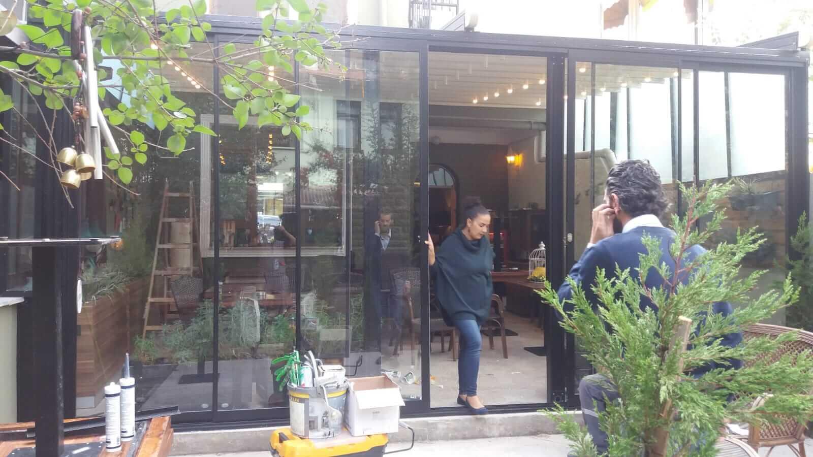 Ankara Mamak Sürme Seri Cam Balkon Sistemleri