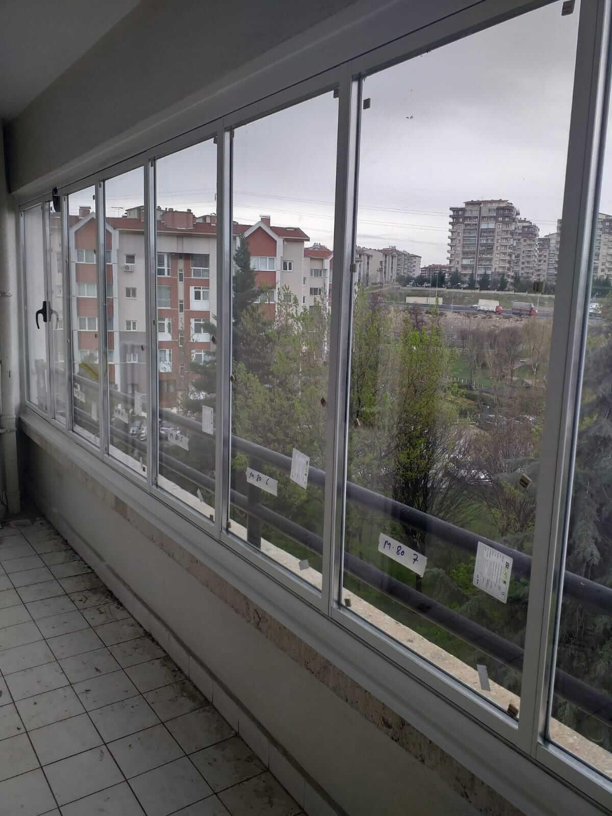 Ankara Sincan Isıcamlı Cam Balkon