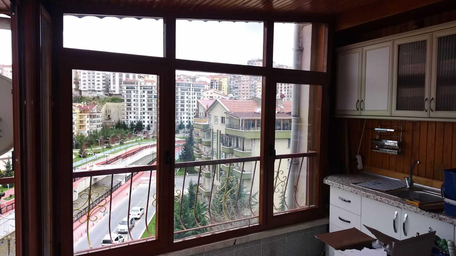 Ankara Ulus Seri Cam Balkon Sistemleri