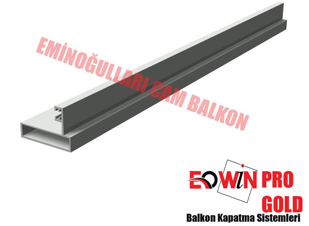Isıcamlı Cam Balkon - EOWİN Pro Gold Cam Balkon - 1 Lik Dikme