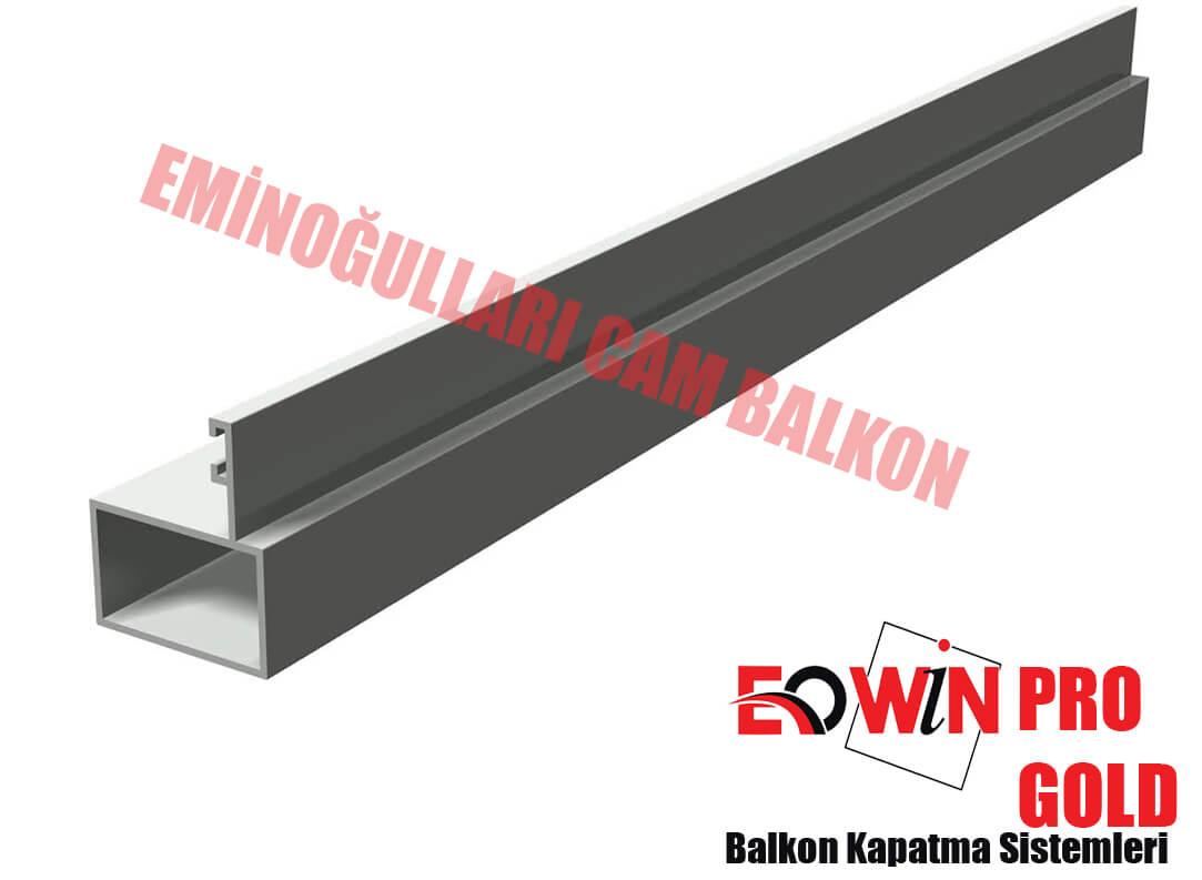 Isıcamlı Cam Balkon - EOWİN Pro Gold Cam Balkon - 2 Lik Dikme