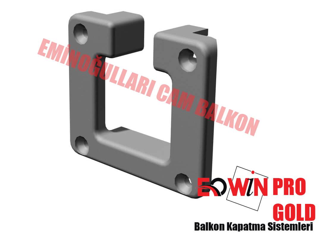 Isıcamlı Cam Balkon - EOWİN Pro Gold Cam Balkon - Çıkış U Plastik