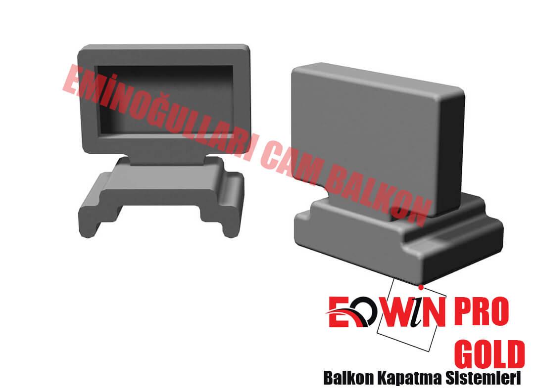 Isıcamlı Cam Balkon - EOWİN Pro Gold Cam Balkon - Dikme Takoz 1'lik