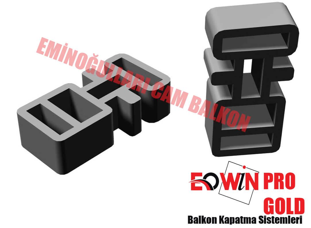 Isıcamlı Cam Balkon - EOWİN Pro Gold Cam Balkon - Dikme Takoz 2'lik