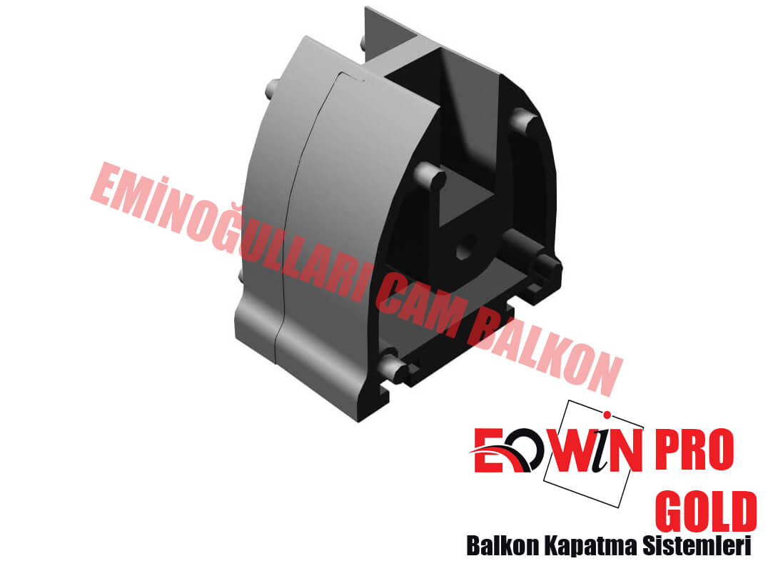 Isıcamlı Cam Balkon - EOWİN Pro Gold Cam Balkon - Düz Ara Kapak