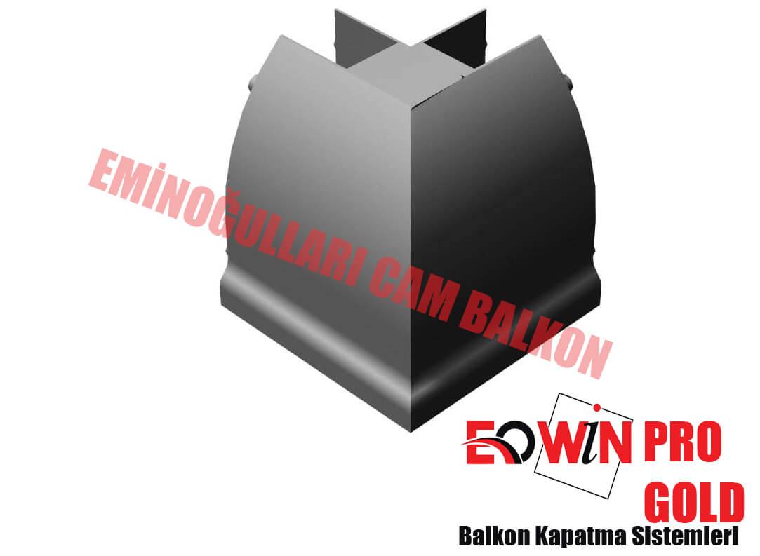 Isıcamlı Cam Balkon - EOWİN Pro Gold Cam Balkon - Kapak 45 90 Derece
