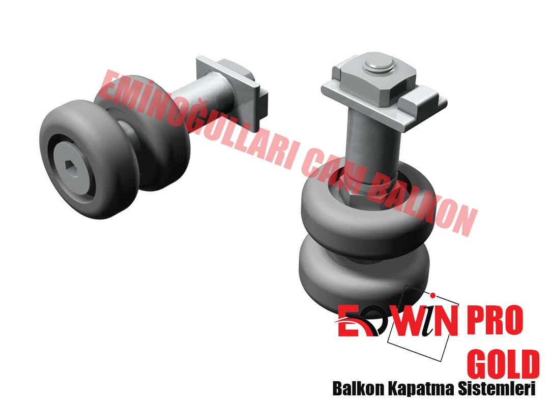 Isıcamlı Cam Balkon - EOWİN Pro Gold Cam Balkon - Düz Tekerlek