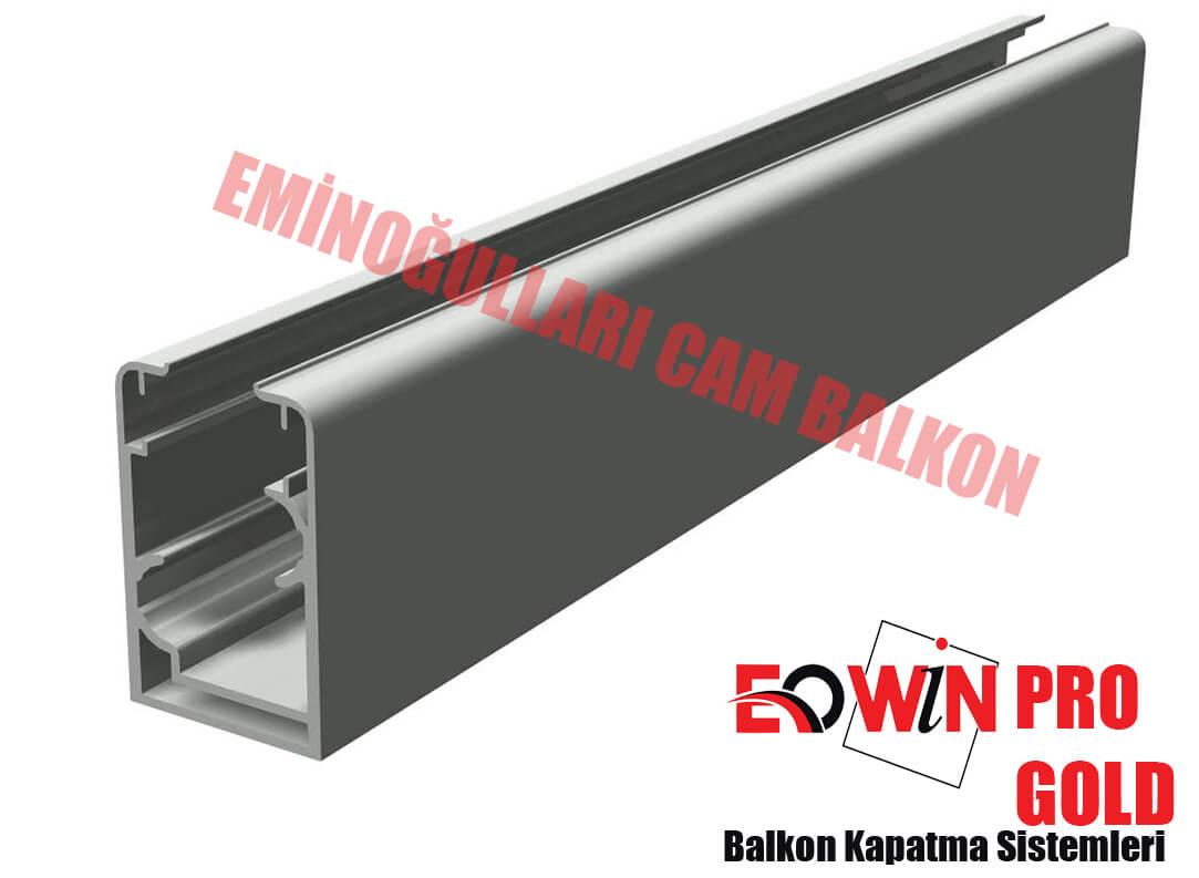 Isıcamlı Cam Balkon - EOWİN Pro Gold Cam Balkon - Düz Kasa