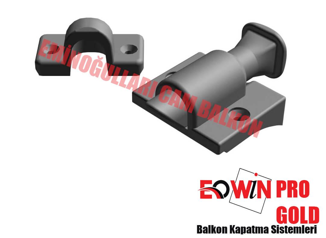 Isıcamlı Cam Balkon - EOWİN Pro Gold Cam Balkon - Kilit Çocuk Emniyetli