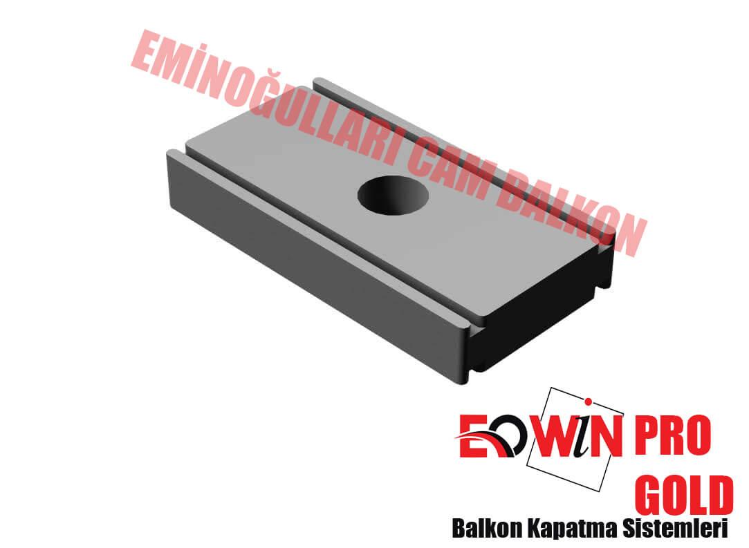 Isıcamlı Cam Balkon - EOWİN Pro Gold Cam Balkon - Lama Bakla Tekli