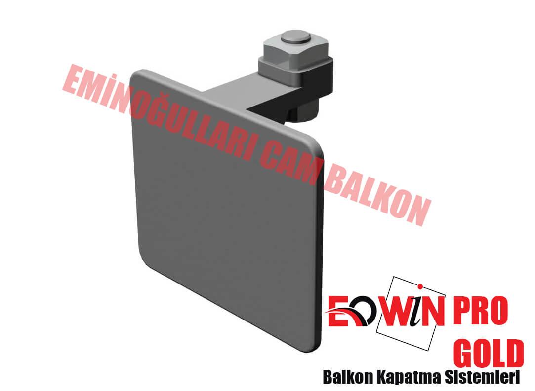 Isıcamlı Cam Balkon - EOWİN Pro Gold Cam Balkon - U Kapak Vidalı