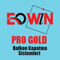 ankara cam balkon eowin pro gold sistem