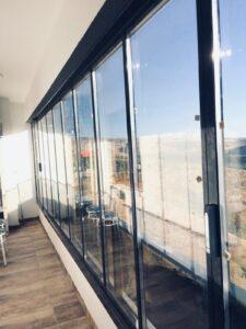 Isıcamlı Katlanır Cam Balkon Sistemleri