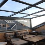 Dayanıklı cam balkon