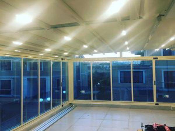 katlanır cam balkon ısı sistem
