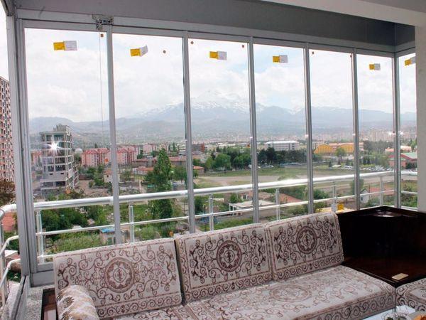 Isıcamlı cam Balkon Modelleri